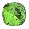 Swarovski Stones 4470 Square 10mm Fern Green 12pcs